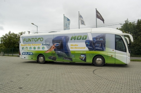 Press release: European premiere of FUNTORO MOD digital system, Autotec, 4.6.2010